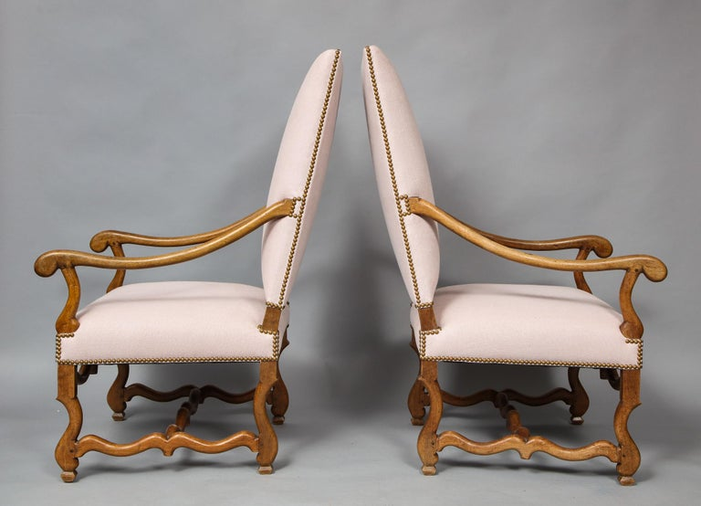 Pair of Baroque Armchairs For Sale 1