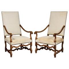 Paar barocke Sessel