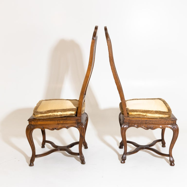 Pair of Baroque Chairs, Germany, Ansbach, circa 1750 In Good Condition For Sale In Greding, DE