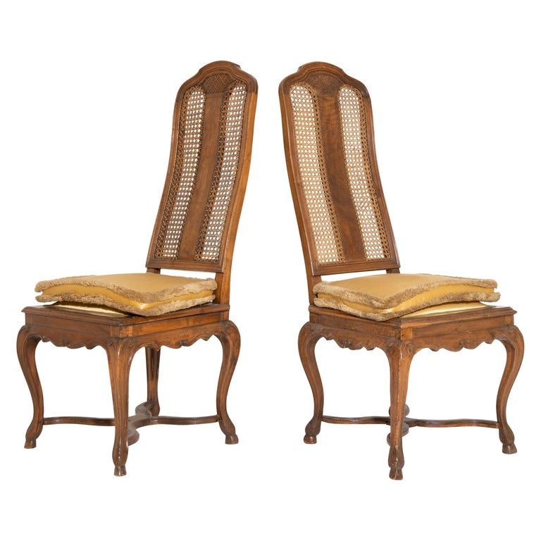 Pair of Baroque Chairs, Germany, Ansbach, circa 1750 For Sale