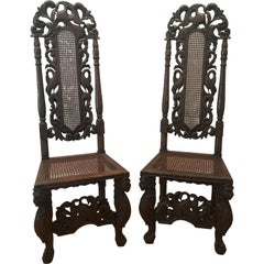 Pair of Baroque Revival Chairs