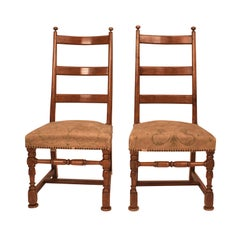 Pair of Baroque Side Chairs, Baltic, circa 1720