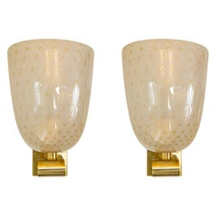 Pair of Barovier Style Wall Lights, Contemporary, UL Certified