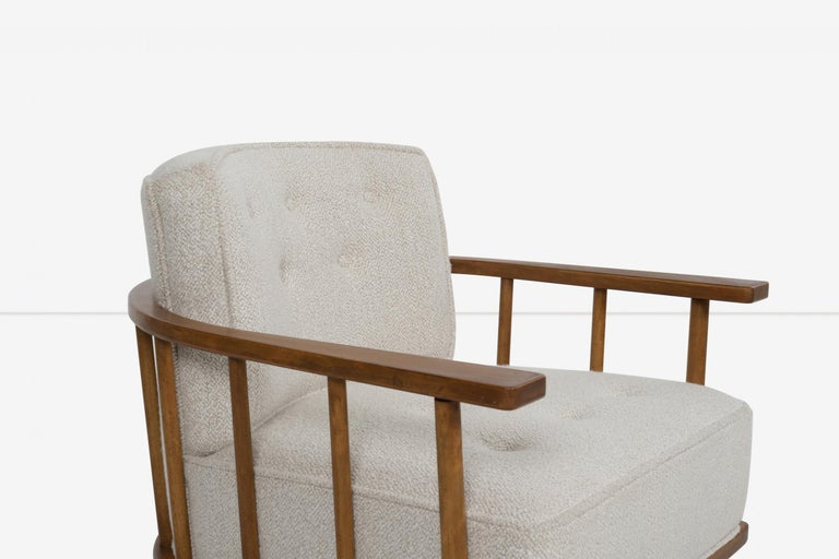 Pair of Barrel Back Lounge Chairs by Robsjohn-Gibbings 2