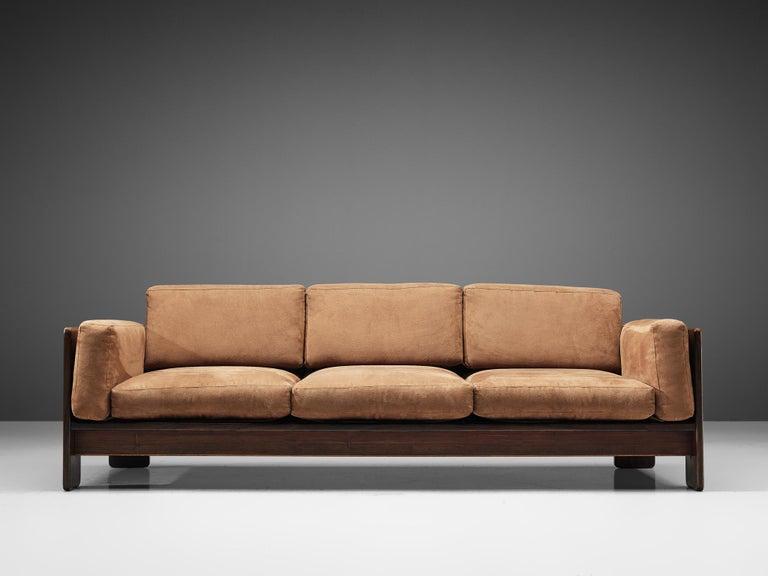 Mid-Century Modern Tobia Scarpa for Knoll 'Bastiano' Sofa For Sale