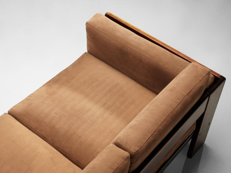 Late 20th Century Pair of 'Bastiano' Sofas by Tobia Scarpa for Knoll For Sale