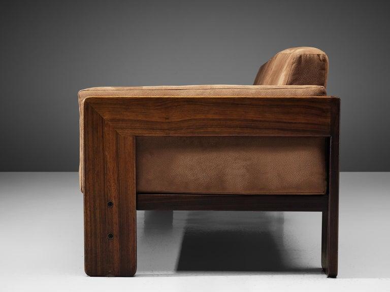 Leather Tobia Scarpa for Knoll 'Bastiano' Sofa For Sale