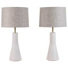 Pair of Bauer Lamps by Stone and Sawyer for Lawson-Fenning