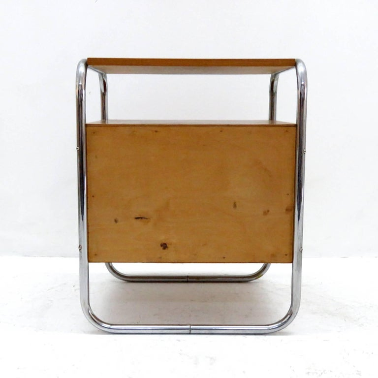 Pair of Bauhaus Nightstands For Sale 1