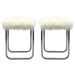 Pair of Bauhaus Stools