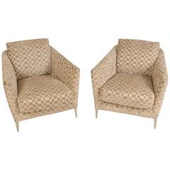 Pair of B&B Italia Malacorte Lounge Chairs