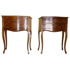 Pair of Bedside Cabinets Louis XV Style