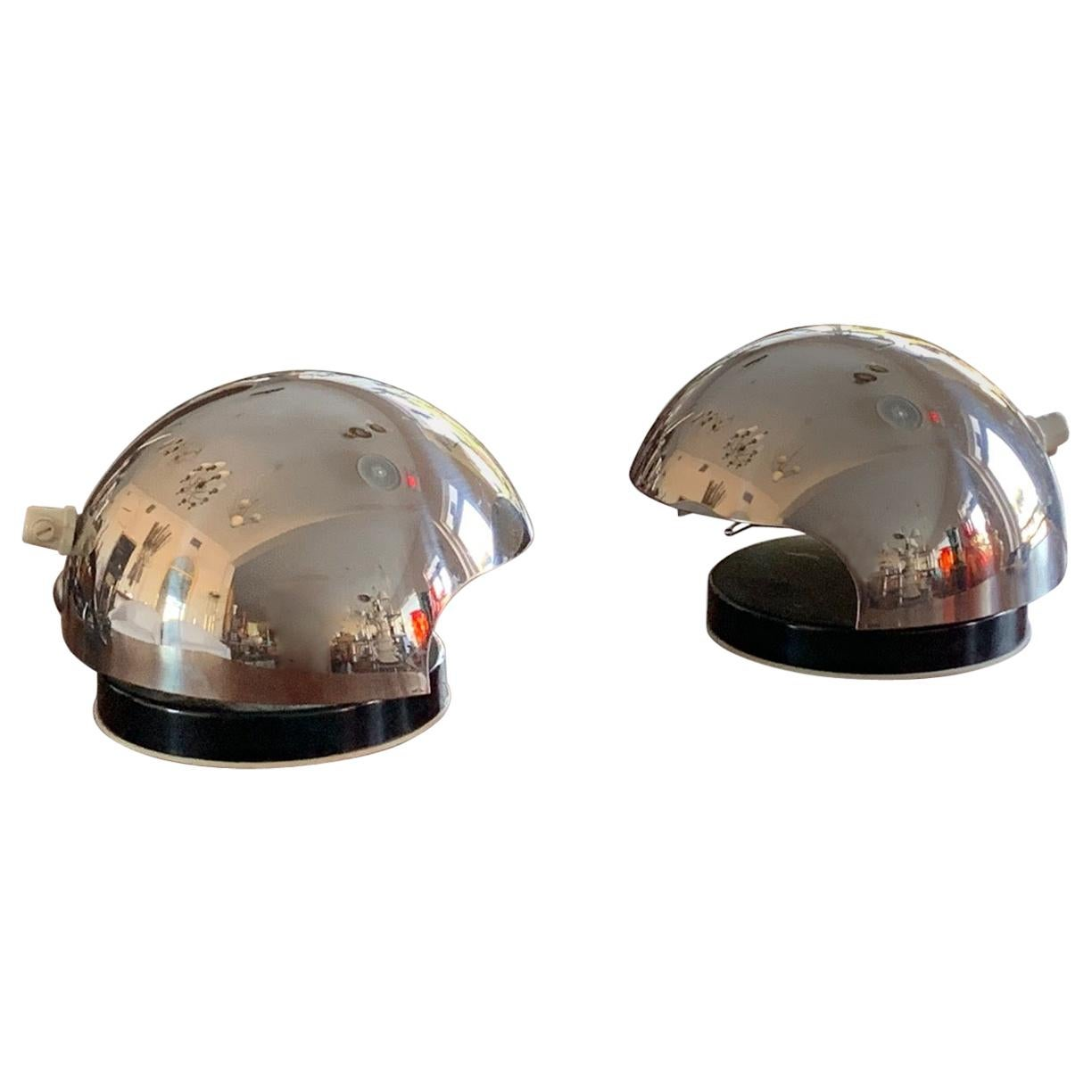 Pair of Bedside Lamps by Reggiani