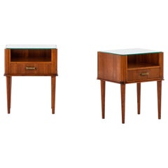 Pair of Bedside Tables in the Manner of Axel Larsson