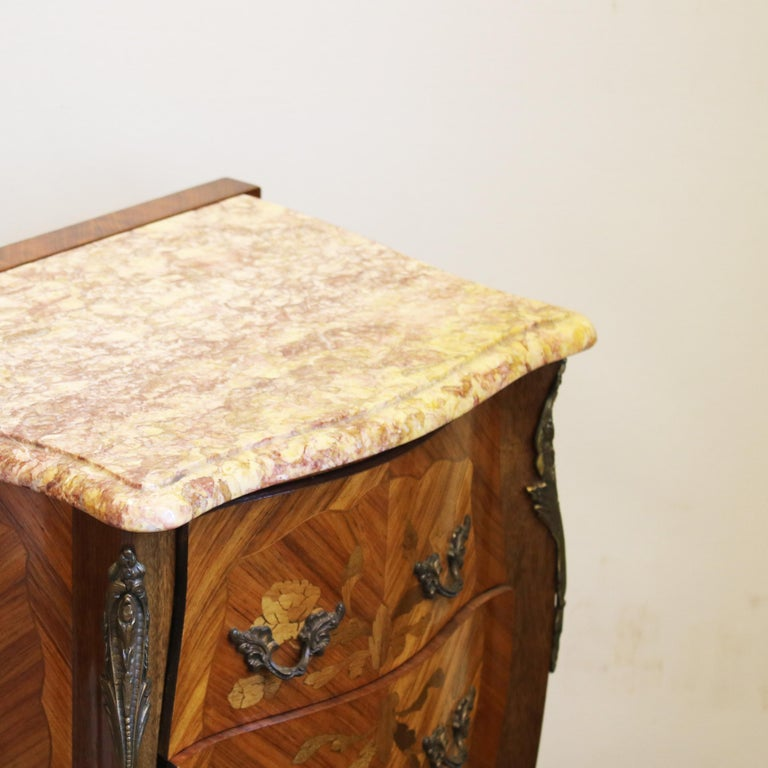 European Pair of Bedside Tables PBT5 For Sale