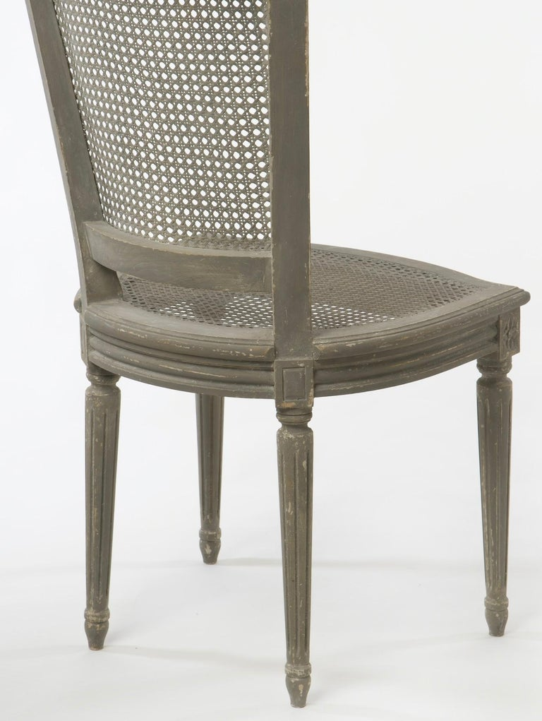 Gustavian Pair of Belgian Side Chairs For Sale