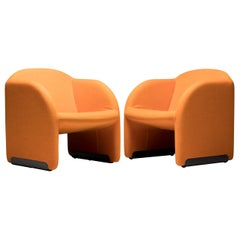 Pair of Ben Chairs by Pierre Paulin for Artifort