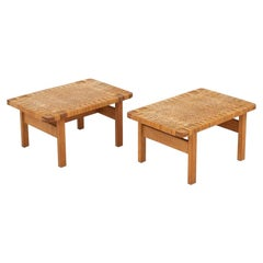Pair of Bench/Coffee Tables by Børge Mogensen