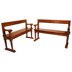 18th Century and Earlier Benches