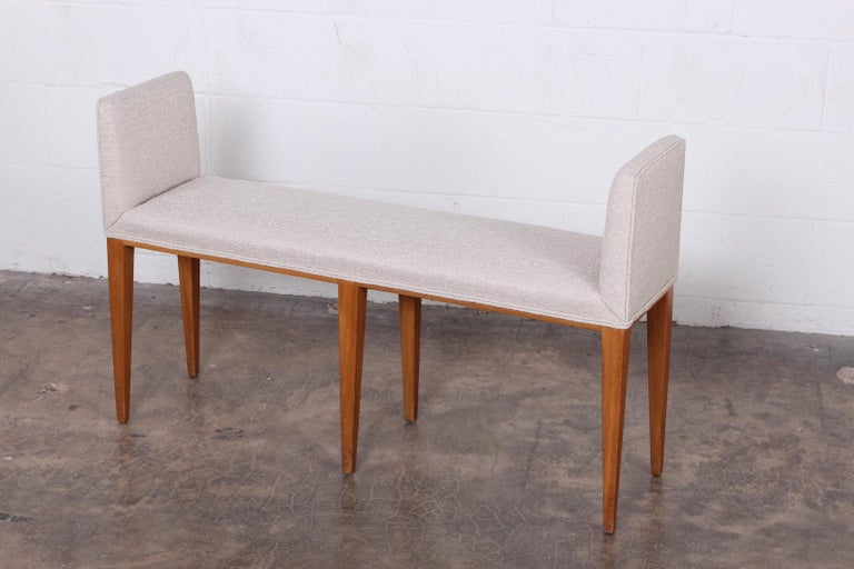 Mid-20th Century Pair of Benches by Edward Wormley for Dunbar For Sale