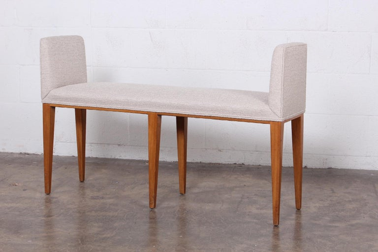 Pair of Benches by Edward Wormley for Dunbar For Sale 1