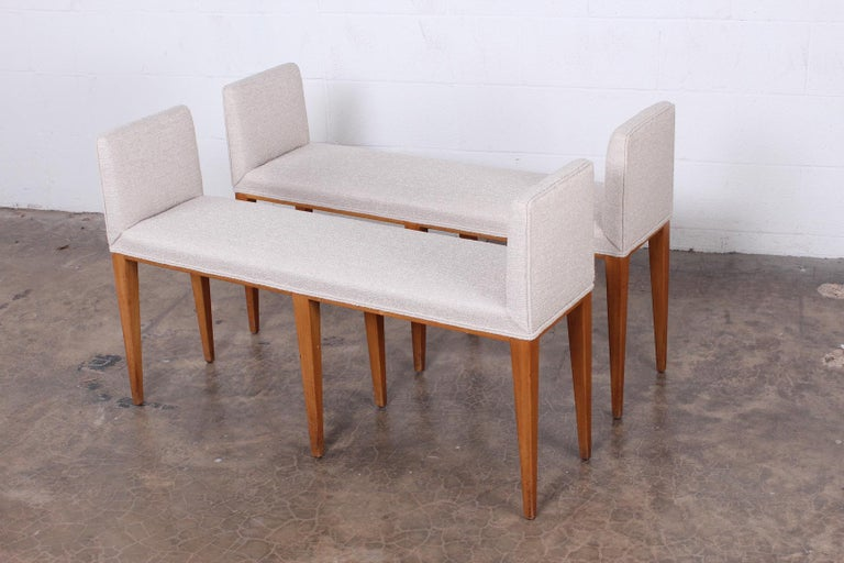 Pair of Benches by Edward Wormley for Dunbar For Sale 5