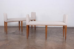 Pair of Benches by Edward Wormley for Dunbar