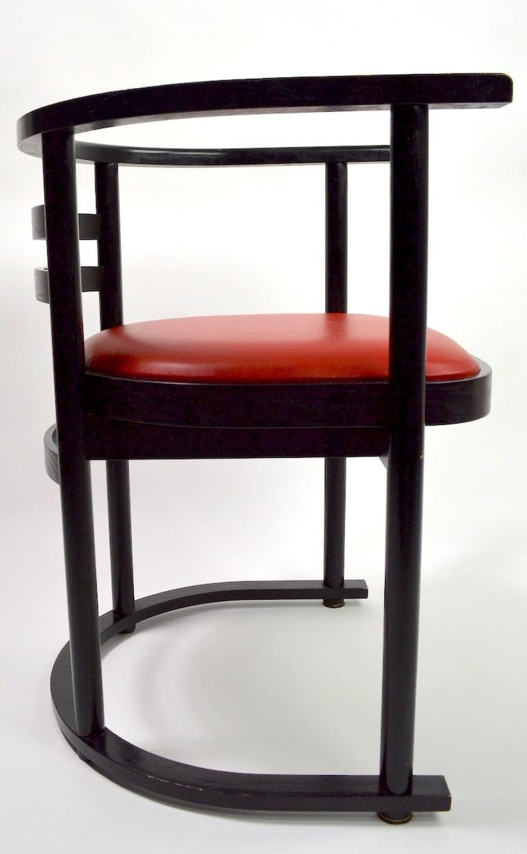 Pair of Bentwood Chairs after Hoffman for Thonet For Sale 3