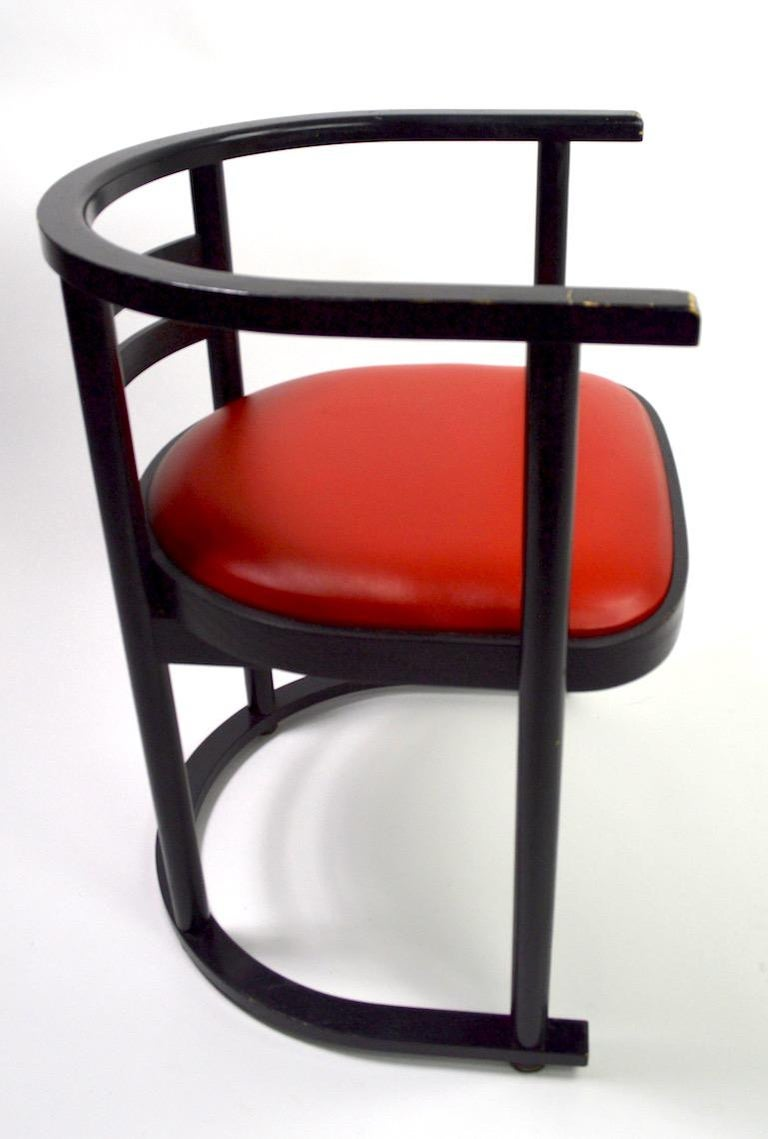 Pair of Bentwood Chairs after Hoffman for Thonet For Sale 4