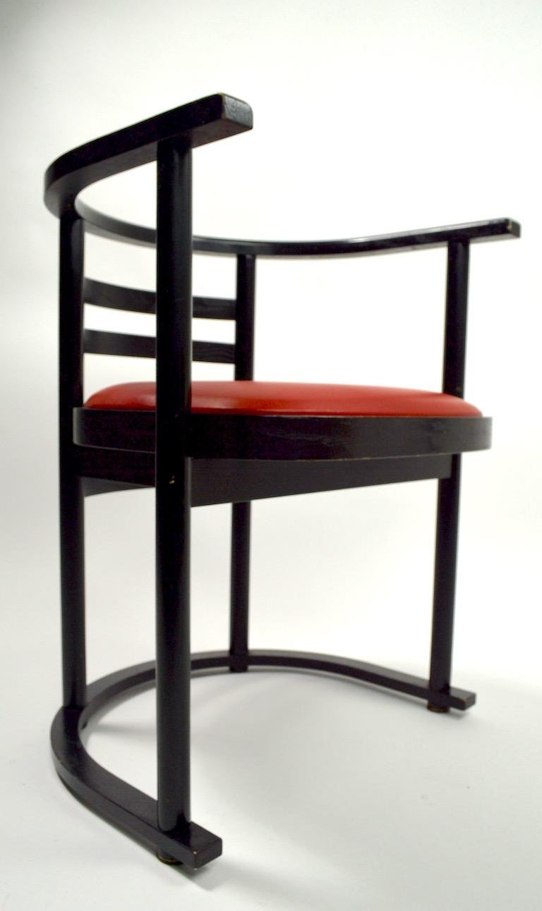 Pair of Bentwood Chairs after Hoffman for Thonet For Sale 5
