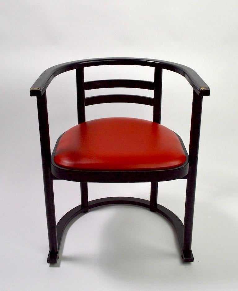 20th Century Pair of Bentwood Chairs after Hoffman for Thonet For Sale