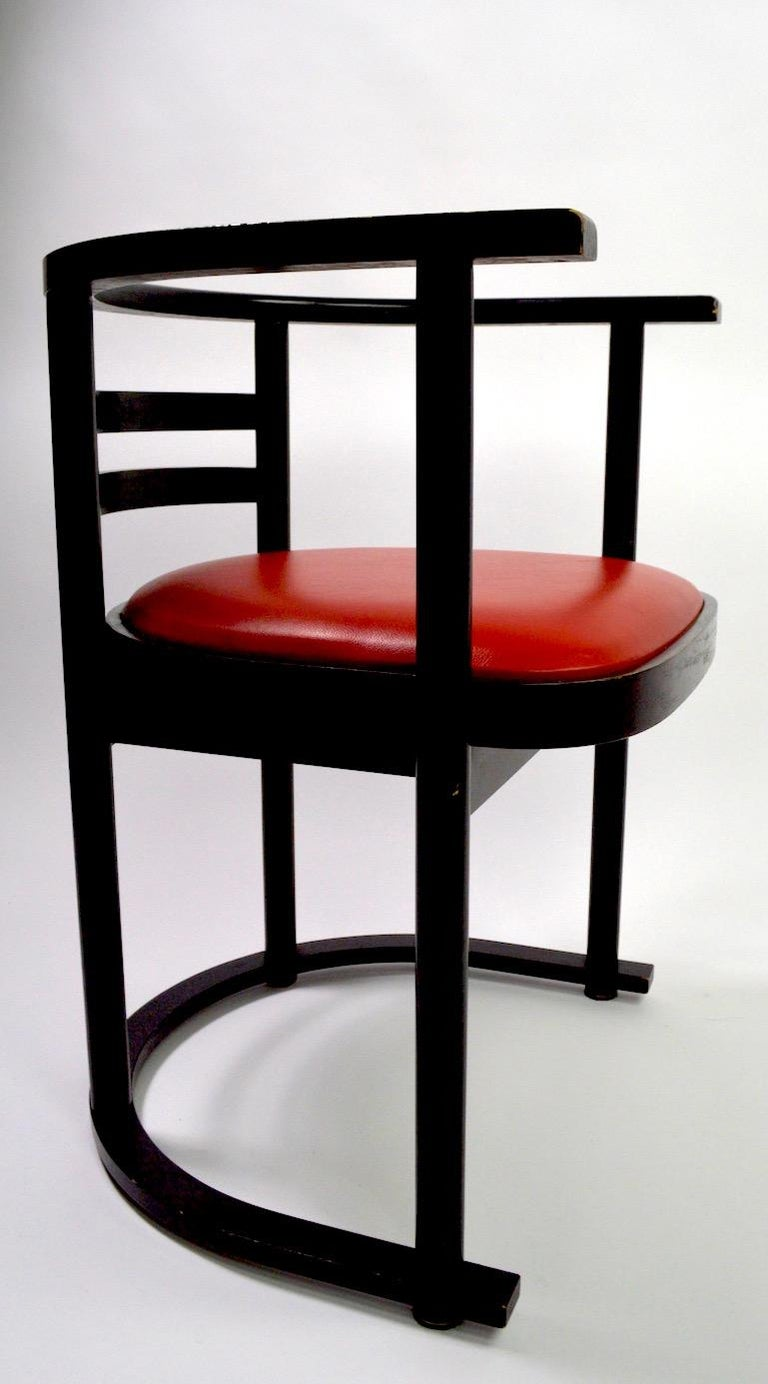 Pair of Bentwood Chairs after Hoffman for Thonet For Sale 2
