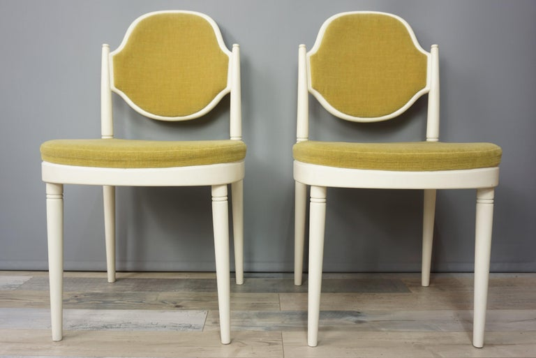 Pair of Bentwood Thonet Chairs Design Hanno Von Gustedt For Sale 6