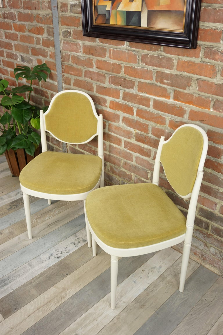 Pair of Bentwood Thonet Chairs Design Hanno Von Gustedt For Sale 8