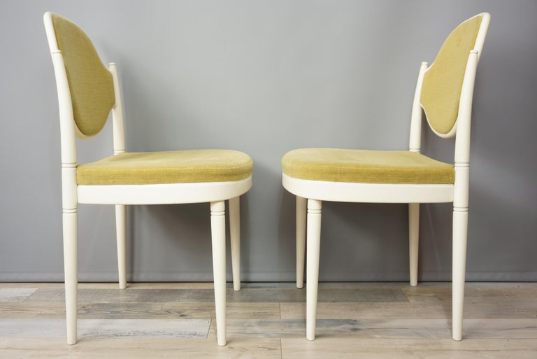 Pair of Bentwood Thonet Chairs Design Hanno Von Gustedt In Excellent Condition For Sale In TOURCOING, FR