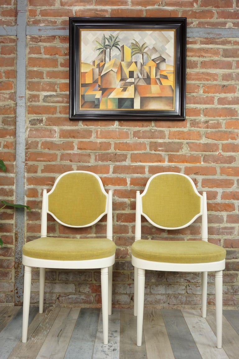 Mid-20th Century Pair of Bentwood Thonet Chairs Design Hanno Von Gustedt For Sale