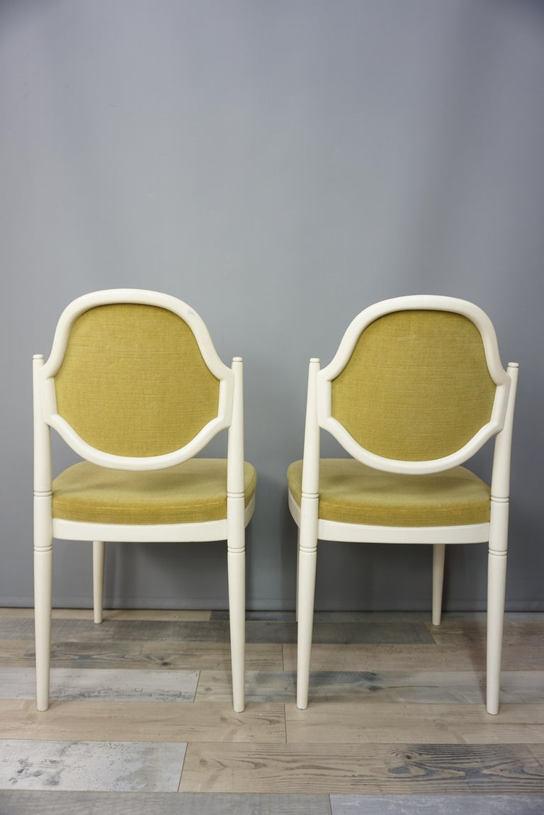Pair of Bentwood Thonet Chairs Design Hanno Von Gustedt For Sale 1