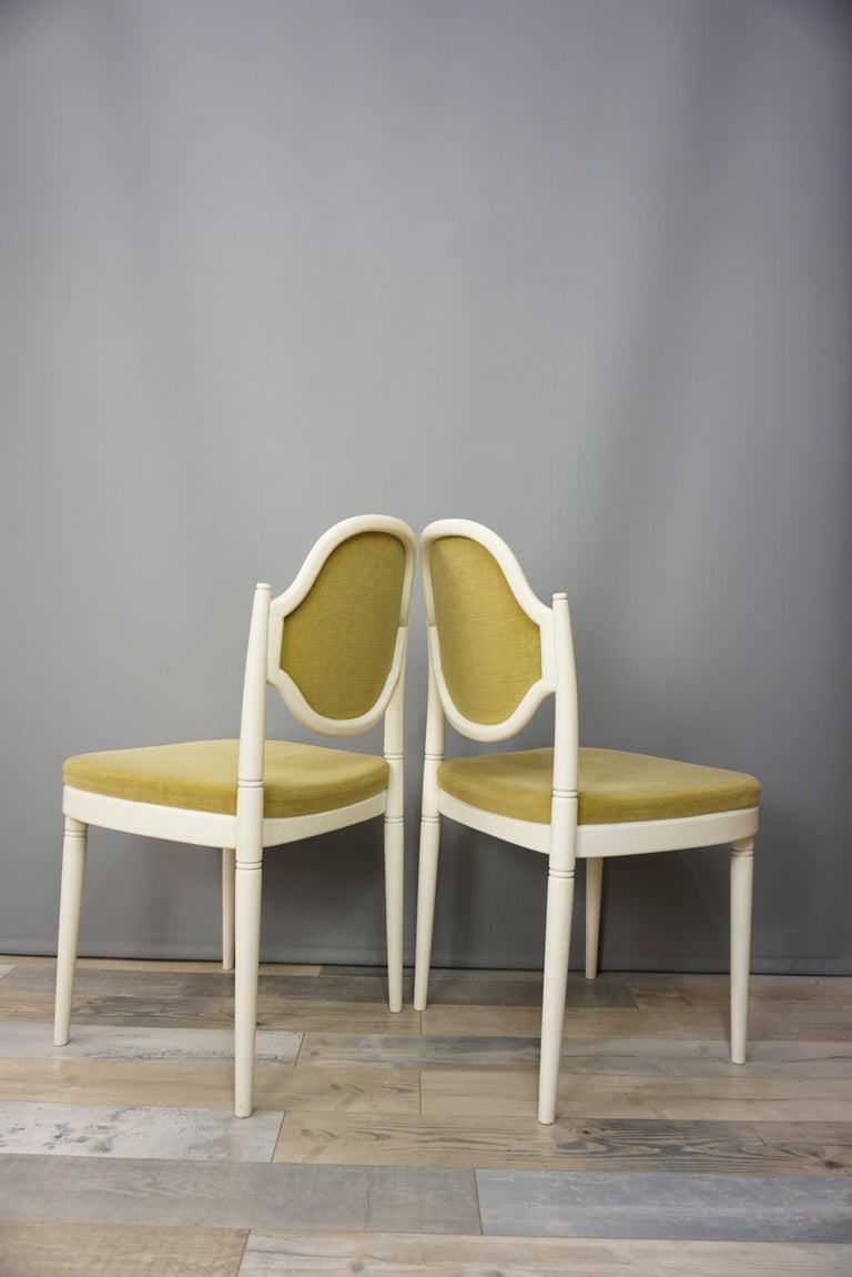 Pair of Bentwood Thonet Chairs Design Hanno Von Gustedt For Sale 2