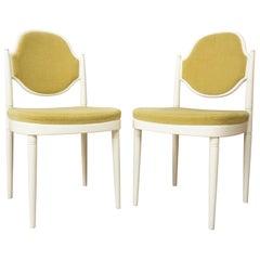 Pair of Bentwood Thonet Chairs Design Hanno Von Gustedt