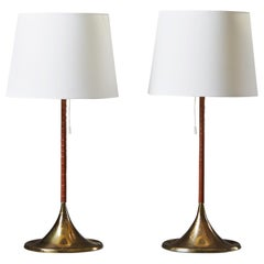"Pair of Bergbom Table Lamps ""G024"", Anonymous, Sweden, 1960s"