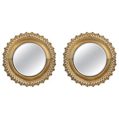 Pair of Berlin Cast Iron Mirrors