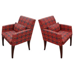 Pair of Bernhardt Lounge Guest Chairs