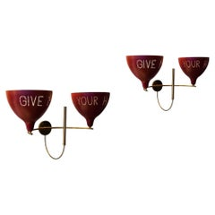 Give Me Your Hand Wall Lights Inspired by Midcentury Italian Design by Mardegan