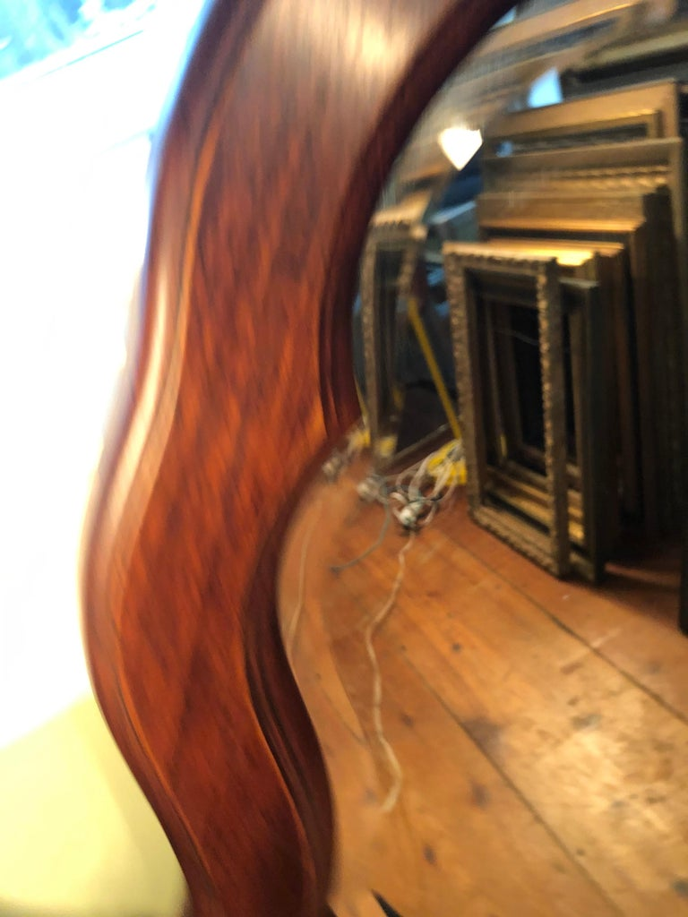 Pair of Beveled Arched Mirrors 9