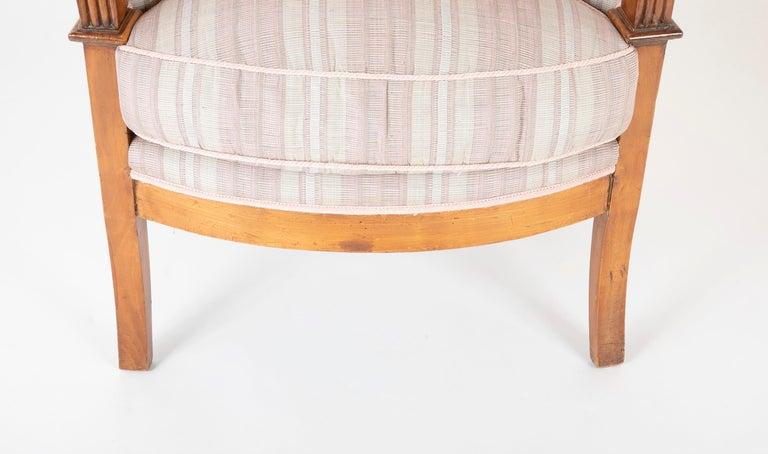 Pair of Biedermeier Armchairs For Sale 4