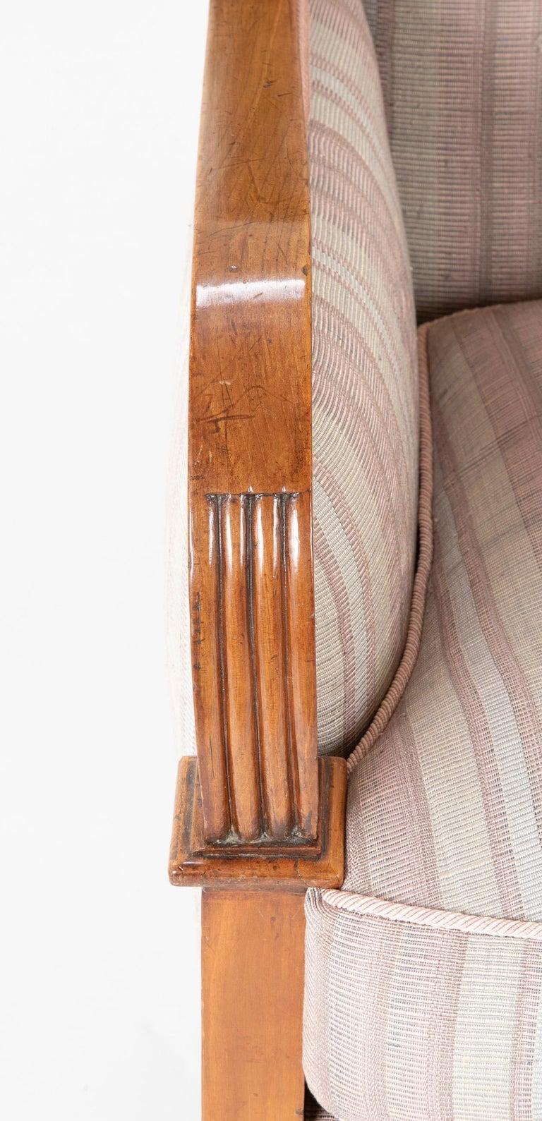 Pair of Biedermeier Armchairs For Sale 5