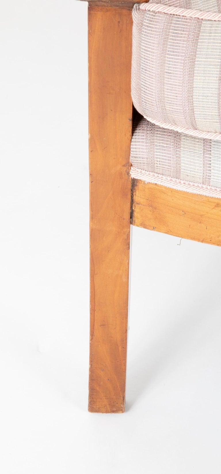 Pair of Biedermeier Armchairs For Sale 6