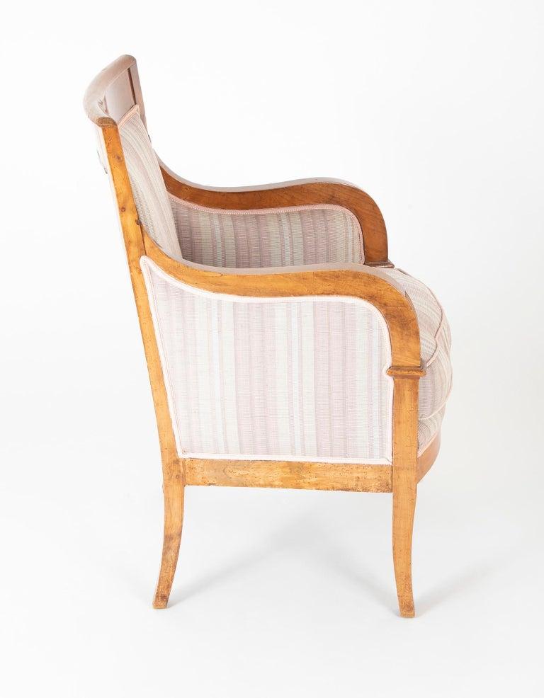 Pair of Biedermeier Armchairs For Sale 7