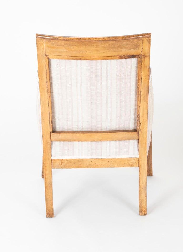 Pair of Biedermeier Armchairs For Sale 9