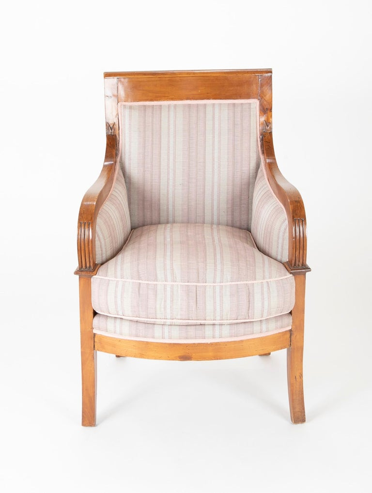 Pair of Biedermeier Armchairs For Sale 1